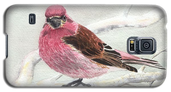 Purple Finch Galaxy S5 Case