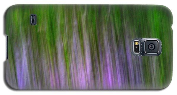 Purple Flames Galaxy S5 Case