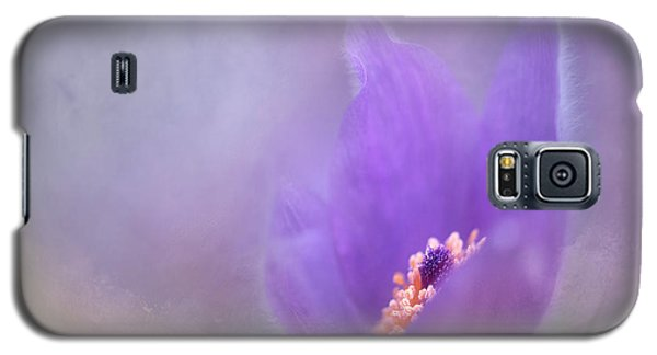 Galaxy S5 Case featuring the photograph Purple Flower by Jacqui Boonstra