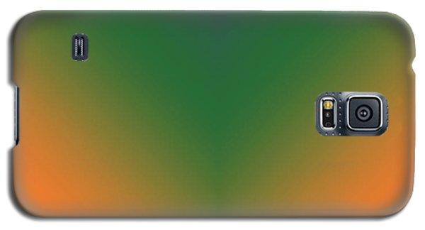 Purple, Green And Orange Galaxy S5 Case