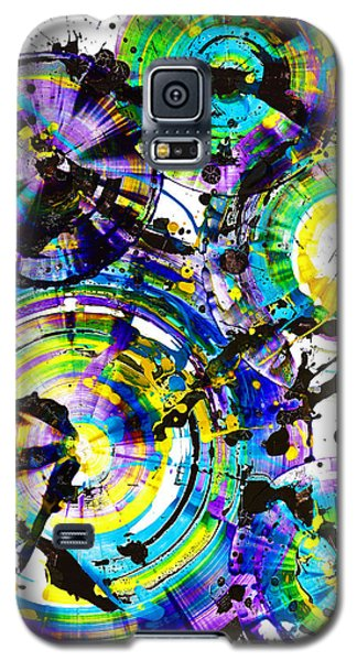 Purple Haze Spheres And Circles 1509.021413 Galaxy S5 Case