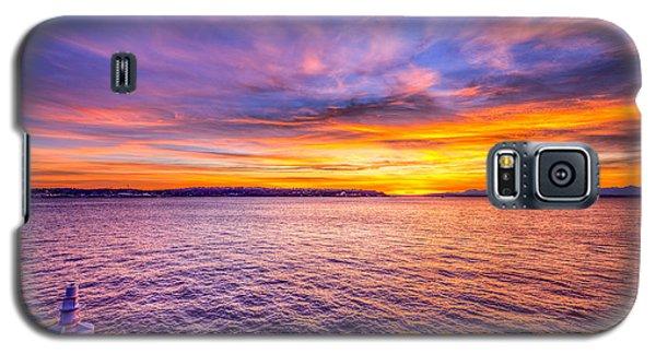 Purple Haze Sunset Galaxy S5 Case