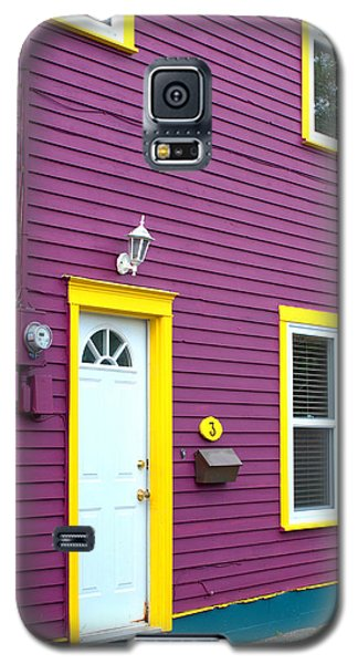 Purple House Galaxy S5 Case by Douglas Pike