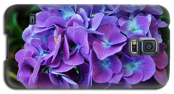 Purple Hydrangea Galaxy S5 Case