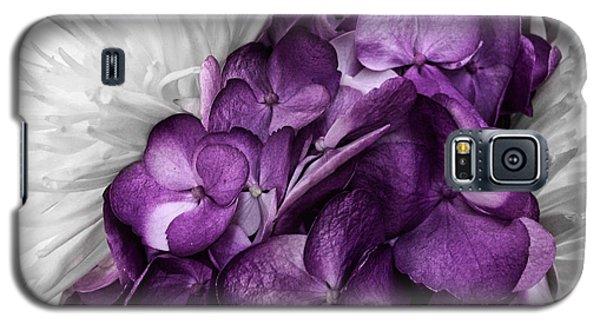 Purple In The White Galaxy S5 Case