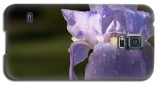 Purple Iris After The Rain Galaxy S5 Case