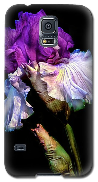 Purple Iris Galaxy S5 Case