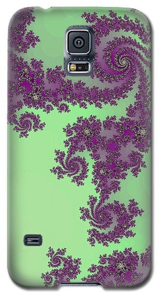 Purple Lace Galaxy S5 Case