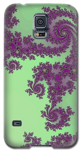 Purple Lace Galaxy S5 Case