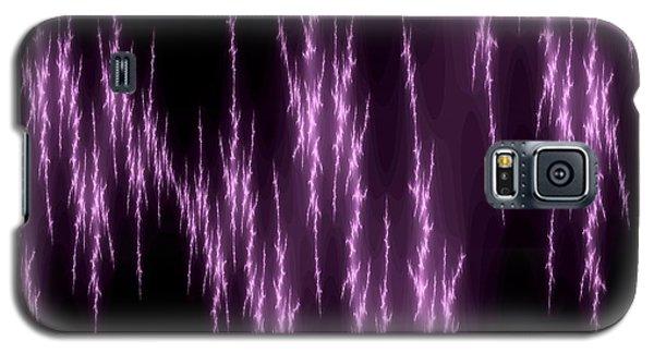 Purple Lightening Galaxy S5 Case