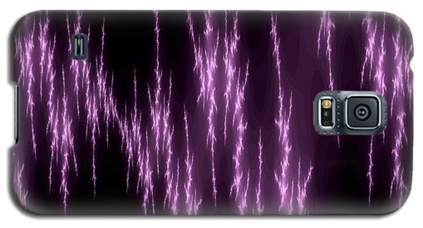 Purple Lightening Galaxy S5 Case