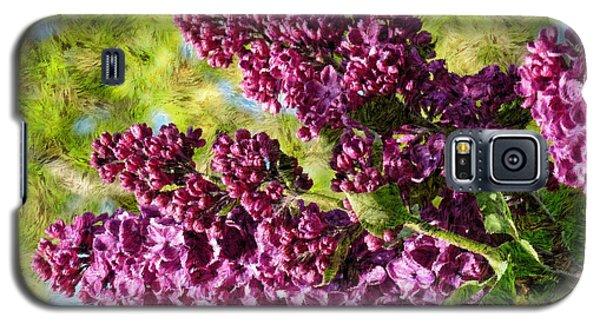 Purple Lilac 1 Galaxy S5 Case