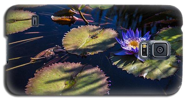 Purple Lily Galaxy S5 Case