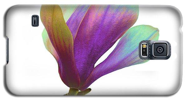 Purple Magnolia Galaxy S5 Case