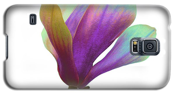 Purple Magnolia Galaxy S5 Case