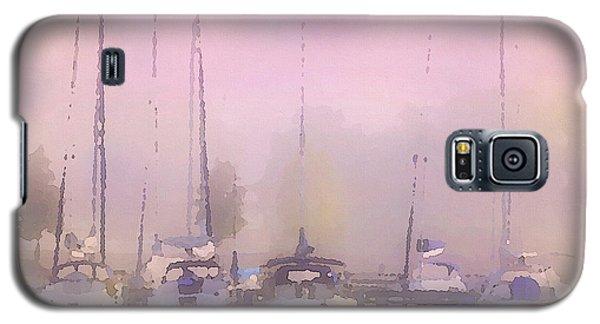 Purple Marina Morning Galaxy S5 Case