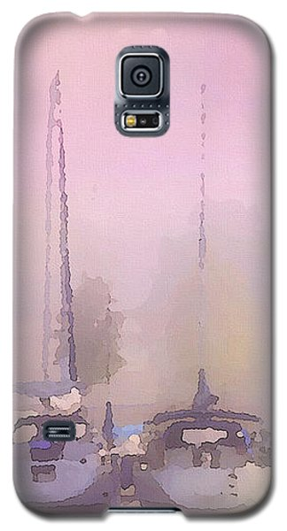 Purple Marina Morning Galaxy S5 Case