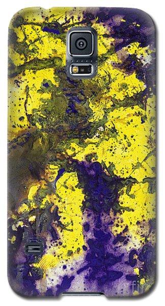 Purple Married Yellow Galaxy S5 Case