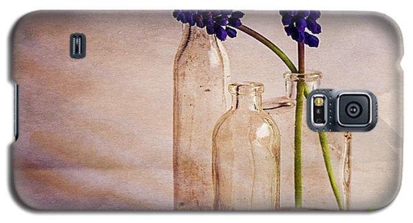 Purple Galaxy S5 Case by Mary Hone