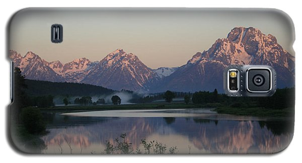 Galaxy S5 Case featuring the photograph Purple Mountain Majesty  by Paula Guttilla