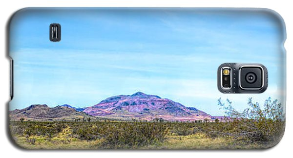 Purple Mountain Panoramic Galaxy S5 Case