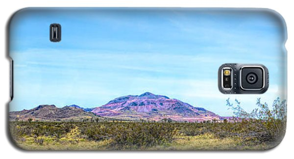Purple Mountain Panoramic Galaxy S5 Case
