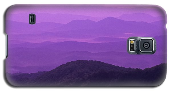 Purple Mountains Galaxy S5 Case