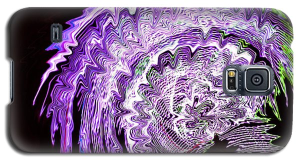 Purple Mushroom Galaxy S5 Case