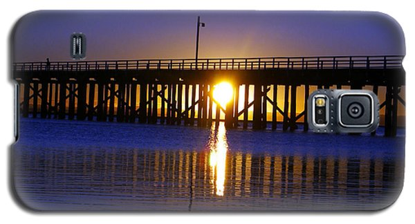 Purple Ocean Sunrise Galaxy S5 Case