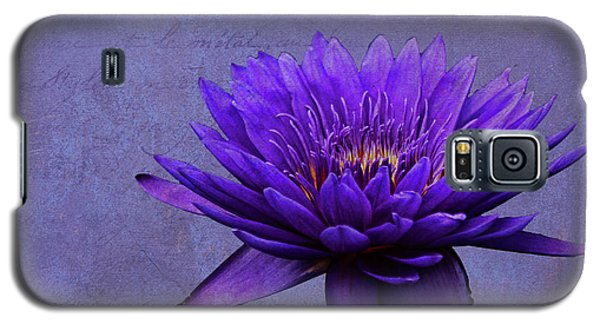 Galaxy S5 Case featuring the photograph Purple Passion by Judy Vincent