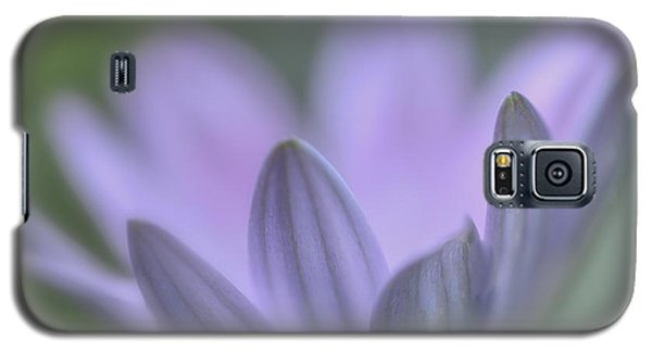 Galaxy S5 Case featuring the photograph Purple Petals by Jacqui Boonstra
