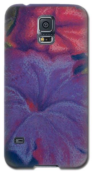 Purple Petunia Galaxy S5 Case