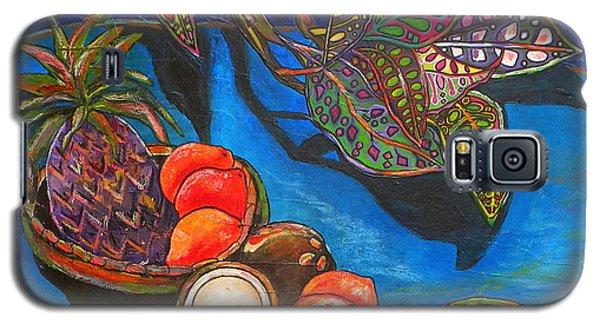 Purple Pineapple Galaxy S5 Case