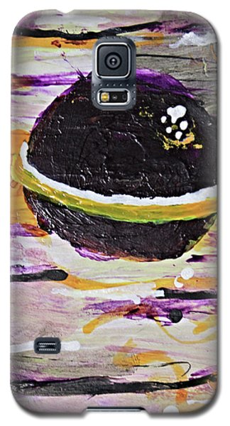 Purple Planet Galaxy S5 Case