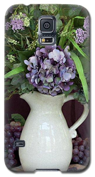 Purple Pleasures Galaxy S5 Case by Sherry Hallemeier