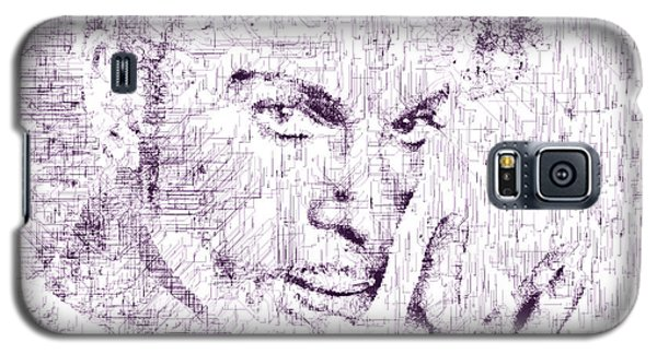 Galaxy S5 Case featuring the digital art Purple Rain By Prince by ISAW Company