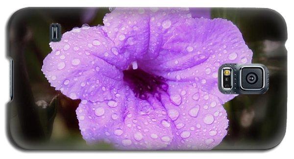 Galaxy S5 Case featuring the photograph Purple Rain by Joseph G Holland