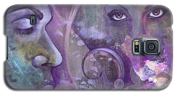 Dove Galaxy S5 Case - Purple Rain by Shadia Derbyshire