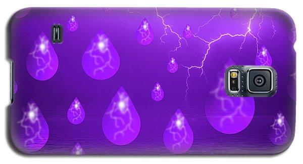 Purple Rain Galaxy S5 Case