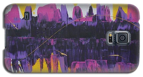 Purple Reflections Galaxy S5 Case