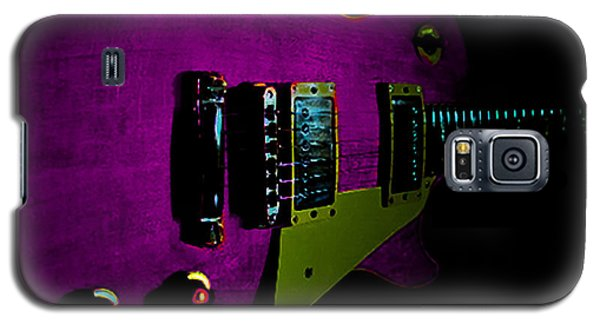 Purple Relic Les Paul II Hover Series Galaxy S5 Case