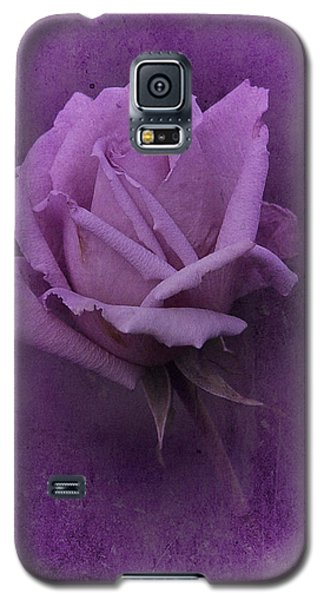 Purple Rose Of November No. 2 Galaxy S5 Case by Richard Cummings