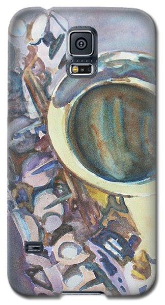Purple Sax Galaxy S5 Case
