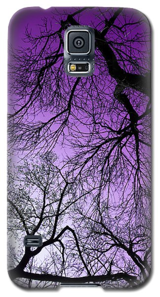 Purple Sky Galaxy S5 Case by Josy Cue