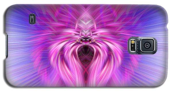 Purple Spider Galaxy S5 Case by Cherie Duran