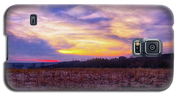 Galaxy S5 Case featuring the photograph Purple Sunset At Retzer Nature Center by Jennifer Rondinelli Reilly - Fine Art Photography