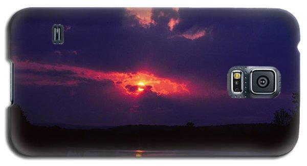 Purple Sunset Galaxy S5 Case