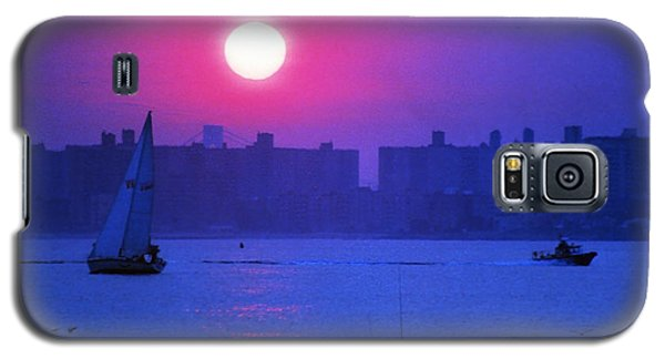 Purple Sunset Off Breezy Point Bayside Galaxy S5 Case