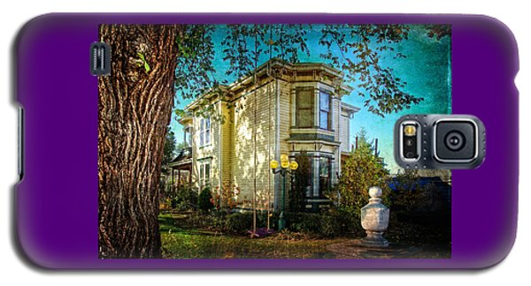 House With The Purple Swing Galaxy S5 Case