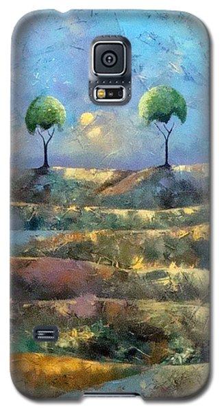 Purple Trees Galaxy S5 Case